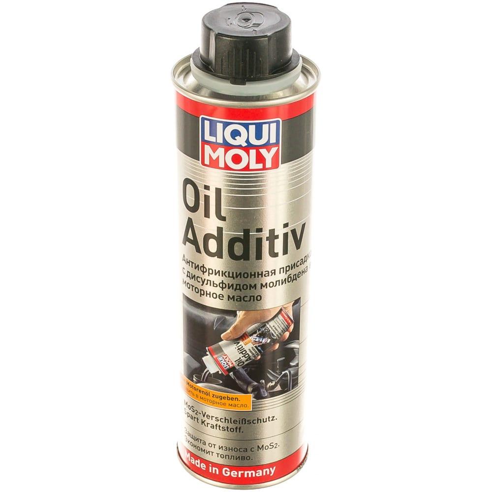 Купить Антифрикционная присадка в моторное масло с дисульфидом молибдена 0, 3л liqui moly oil additiv 1998