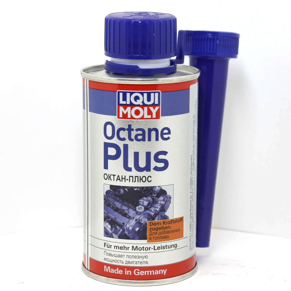 Присадка в топливо (бензин) 0, 15л liqui moly октан плюс octane plus 3954  - купить со скидкой