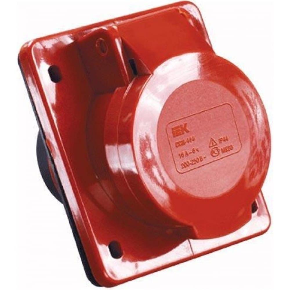 Стационарная розетка для скрытой установки 414 3р+ре 16а 380в ip44 tdm sq0604-0012