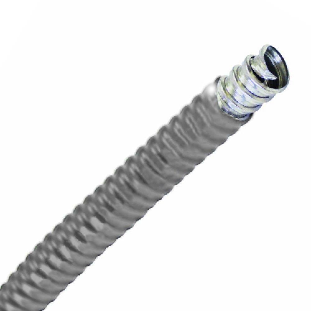 Купить Металлорукав в пвх-изоляции tdm рз-ц-п 12 серый 25м sq0407-0112