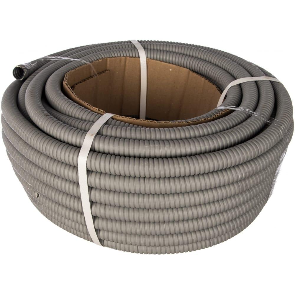 Металлорукав в пвх-изоляции tdm рз-ц-п 15 серый 25м sq0407-0113