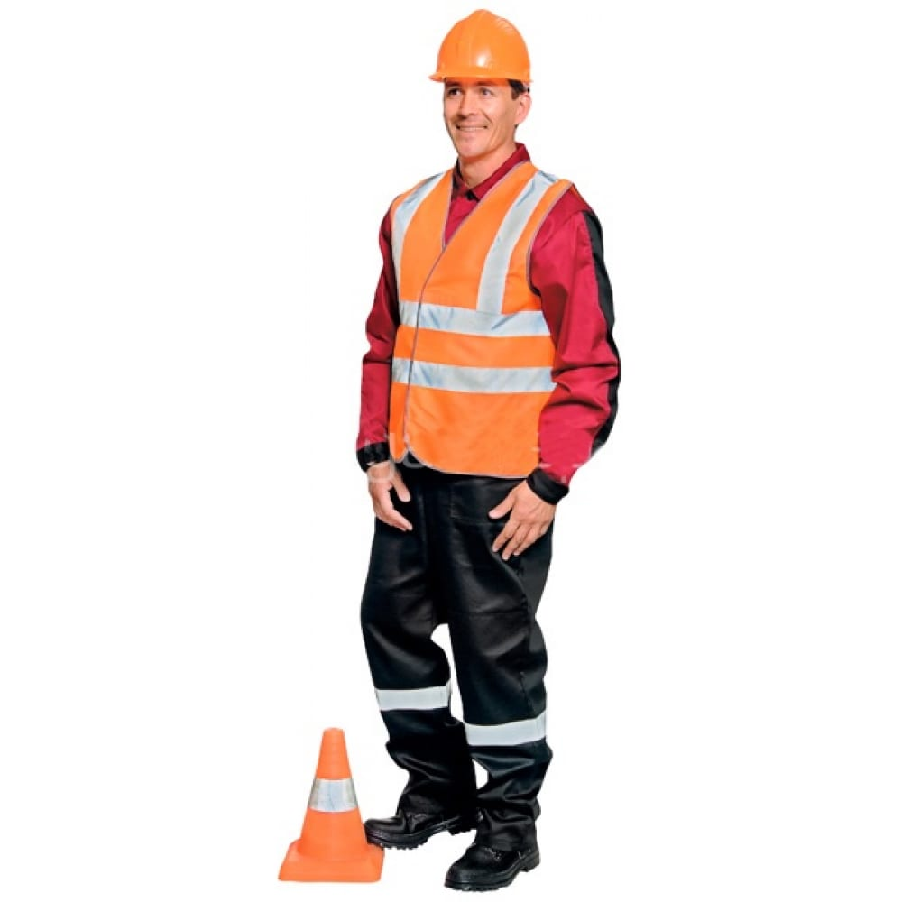 Сигнальный жилет авангард-спецодежда блик new оранжевый, р.112-116 (xхl) 72565Жилеты<br>Тип: мужской ;<br>Цвет: оранжевый ;<br>Ткань: 100% полиэфир ;<br>Плотность ткани: 150 г/кв.м;<br>Размер: 54-56 ;<br>Световозвращающая полоса: есть ;<br>Тип застежки: липучка ;<br>ГОСТ\ТУ: ГОСТ Р 12.4.219-99 ;<br>Единиц в упаковке: 1 шт.;<br>Вес модели: 0.22 кг;<br>Защитные свойства: от общих загрязнений, от истирания ;<br>Международный размер: XXL (54-56) ;