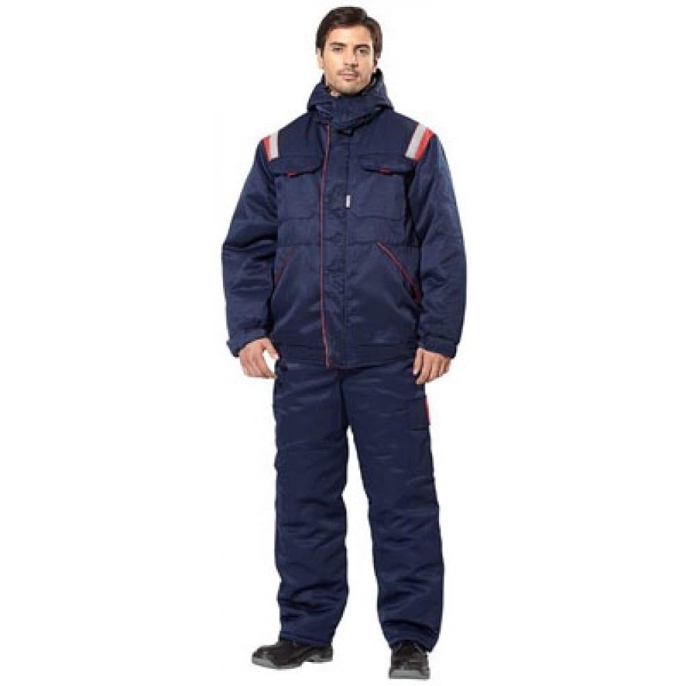 Утепленный костюм авангард-спецодежда авангард р. 96-100, рост 170-176 49224Рабочие костюмы<br>Вес: 2.62 кг;<br>Тип: мужской с полукомбинезоном ;<br>Цвет: синий+красный ;<br>Max температура: -18 °C;<br>Ткань: смесовая ;<br>Плотность ткани: 210 г/кв.м;<br>Размер: 48-50 ;<br>Рост: 170-176 см;<br>Пропитка: водоотталкивающая ;<br>Капюшон: есть ;<br>Тип застежки: молния ;<br>ГОСТ\ТУ: ГОСТ Р 12.4.236-2011 ;<br>Единиц в упаковке: 1 шт.;<br>Защитные свойства: от пониженных температур воздуха, от истирания, от общих загрязнений ;<br>Утеплитель: синтепон ;<br>Международный размер: M (48-50) ;<br>Светоотражающие элементы: есть ;<br>Сигнальный: нет ;