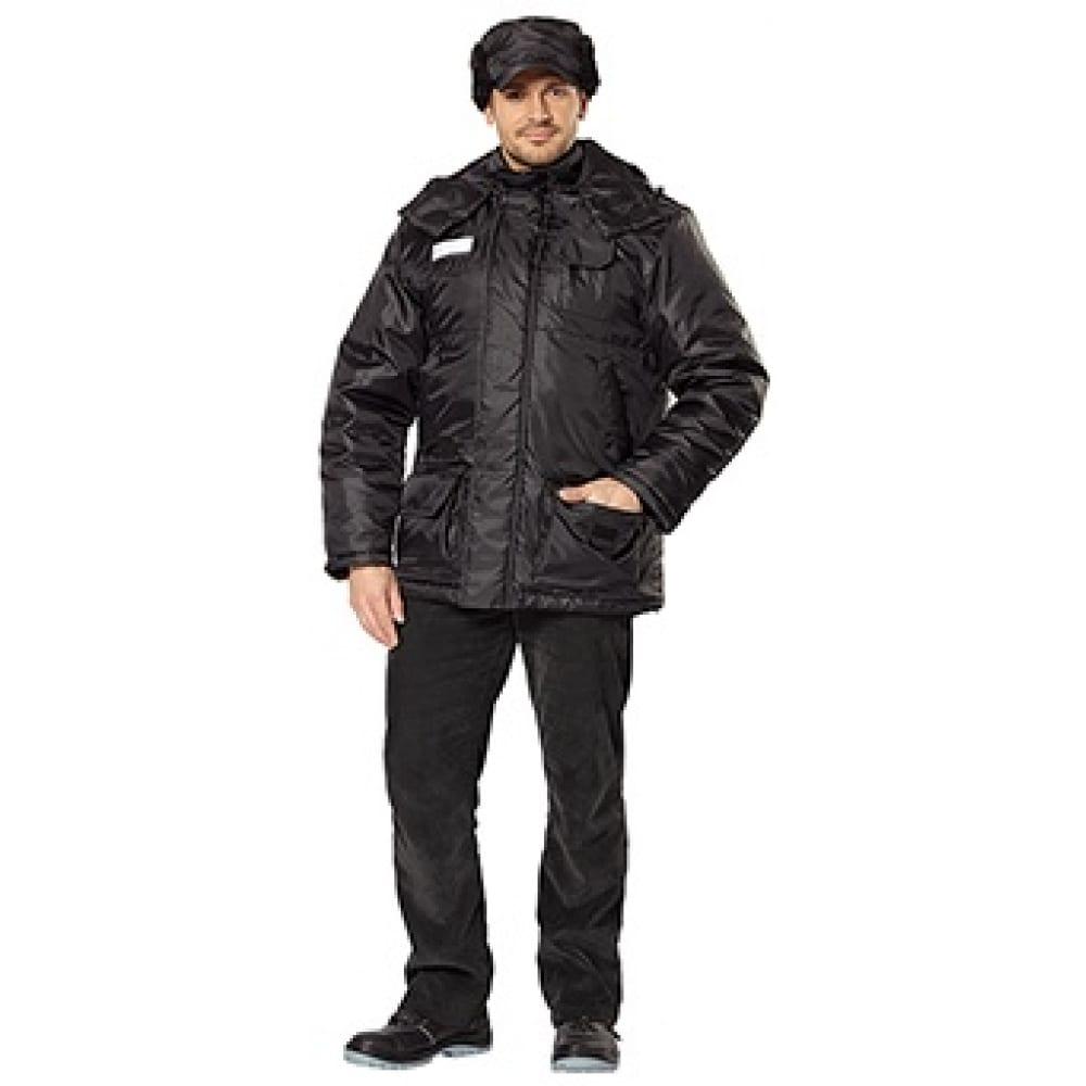 Куртка авангард-спецодежда сталкер черный, р.88-92, рост 170-176 157433Утепленные куртки<br>Вес: 1.06 кг;<br>Тип: мужская ;<br>Цвет: черный ;<br>Ткань: 100% полиэфир ;<br>Размер: 44-46 ;<br>Рост: 170-176 ;<br>Капюшон: есть ;<br>Тип застежки: молния ;<br>ГОСТ\ТУ: ГОСТ Р 12.4.236-2011 ;<br>Единиц в упаковке: 1 шт.;<br>Утеплитель: синтепон ;<br>Международный размер: XS (44-46) ;<br>Светоотражающие элементы: нет ;