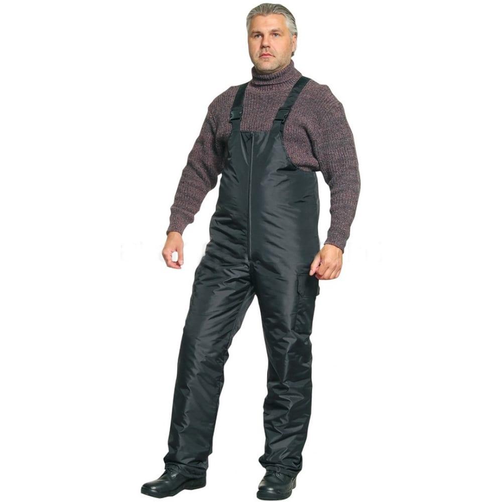 Утепленный полукомбинезон авангард-спецодежда черный, р.96-100, рост 182-188 15494Рабочие комбинезоны и брюки<br>Вес: 0.78 кг;<br>Тип: мужской комбинезон ;<br>Цвет: черный ;<br>Max температура: -18 °C;<br>Ткань: полиэстер ;<br>Размер: 48-50 ;<br>Рост: 182-188 см;<br>Световозвращающая полоса: нет ;<br>Тип застежки: фастекс (полуавтоматическая застежка) ;<br>ГОСТ\ТУ: ГОСТ Р 12.4.236-2011 ;<br>Единиц в упаковке: 1 шт.;<br>Защитные свойства: от общих загрязнений, от истирания, от пониженных температур воздуха и ветра ;<br>Утеплитель: синтепон ;<br>Международный размер: M (48-50) ;