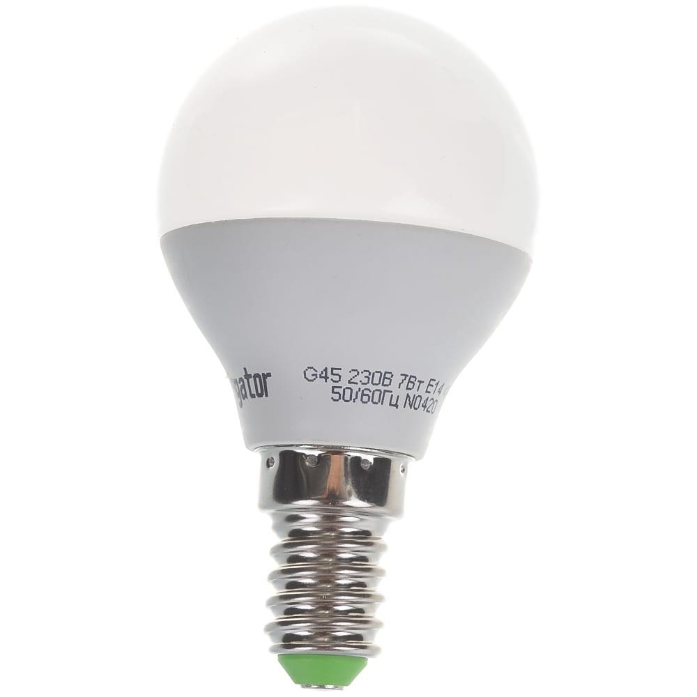 Светодиодная лампа navigator 94 468 nll-g45-7-230-4k-e14 4607136944688 300232