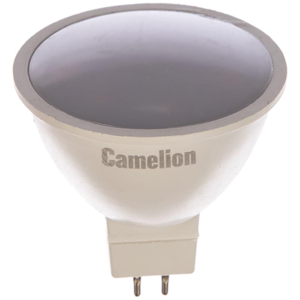 Светодиодная лампа 3вт 220в camelion led3-jcdr/830/gu5.3 11367
