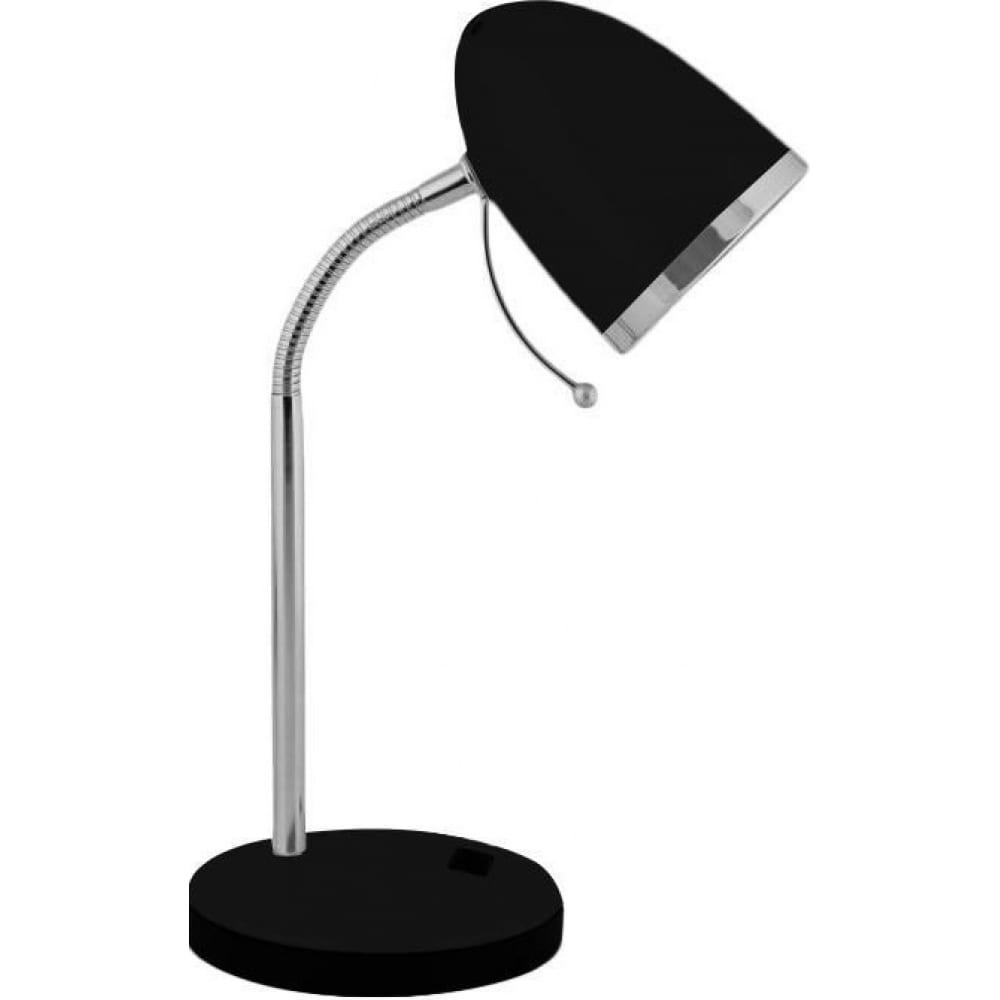 Настольный светильник, чёрный 230v 40w e27 camelion kd-308 c02 11477