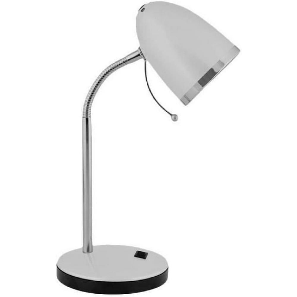 Настольный светильник, серебро 230v 40w e27 camelion kd-308 c03 11478