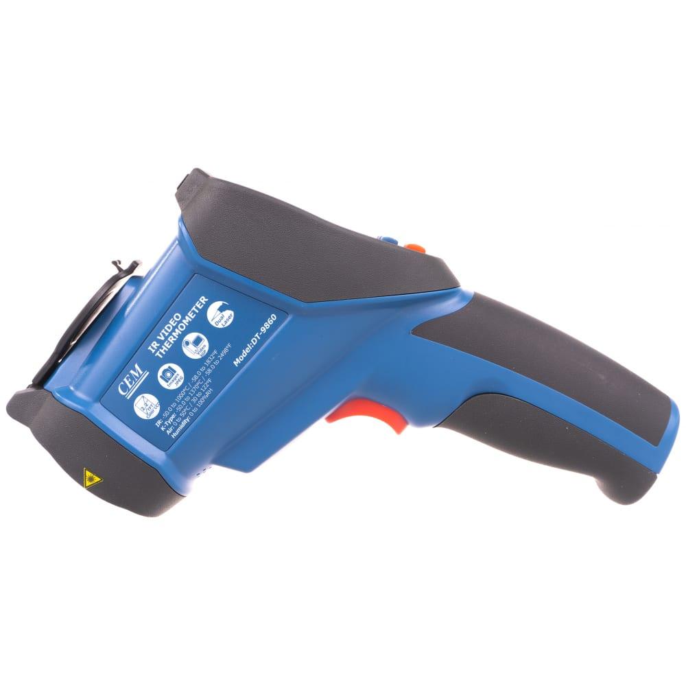 Профессиональный пирометр со встроенной камерой сем dt-9860 481011