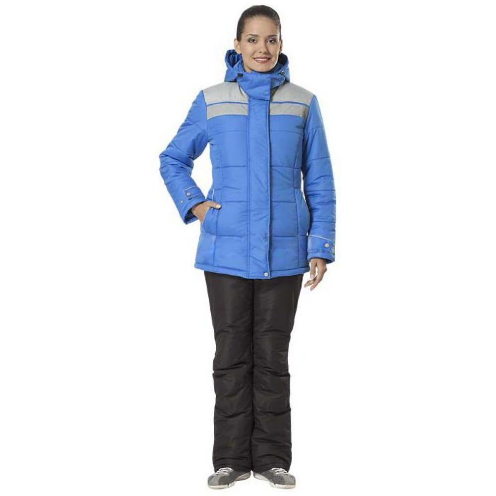 Утепленная женская куртка авангард-спецодежда ангара new васильковый/серый, р.120-124, рост 170-176 157541Утепленные куртки<br>Тип: женская ;<br>Ткань: Dewspo ;<br>Состав ткани: 100% полиэфир ;<br>Утеплитель: синтепон ;<br>Max температура: -18 °C;<br>Размер: 60-62 ;<br>Рост: 170-176 ;<br>Капюшон: есть ;<br>Тип застежки: молния ;<br>ГОСТ\ТУ: ТУ 8570-001-72179571-2011 ;<br>Вес: 1 кг;<br>Цвет: васильковый/серый ;<br>Международный размер: 7ХL (60-62) ;<br>Светоотражающие элементы: нет ;<br>Единиц в упаковке: 1 шт.;<br>Защитные свойства: от пониженных температур воздуха, от общих загрязнений, от истирания ;