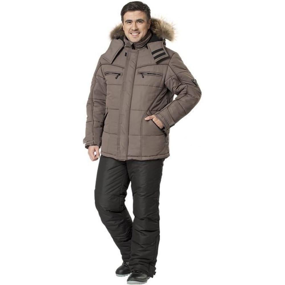 Утепленная куртка авангард-спецодежда базис р.112-116, рост 170-176 500463Утепленные куртки<br>Тип: мужская ;<br>Ткань: Таслан ;<br>Состав ткани: 100% полиэфир ;<br>Утеплитель: шелтер ;<br>Max температура: -25 °C;<br>Размер: 56-58 ;<br>Рост: 170-176 ;<br>Капюшон: есть ;<br>Тип застежки: молния ;<br>ГОСТ\ТУ: ТУ 8570-001-72179571-2011 ;<br>Вес: 1.46 кг;<br>Цвет: какао ;<br>Международный размер: XXXL (56-58) ;<br>Светоотражающие элементы: нет ;<br>Единиц в упаковке: 1 шт.;<br>Защитные свойства: от пониженных температур воздуха, от общих загрязнений, от истирания ;