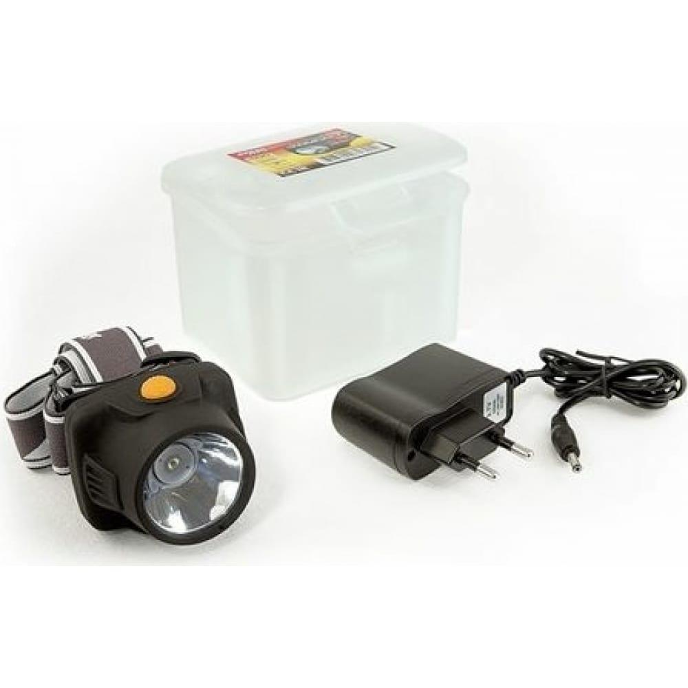 Налобный фонарь яркий луч lh-100a компакт 3w led li-ion 4606400616214