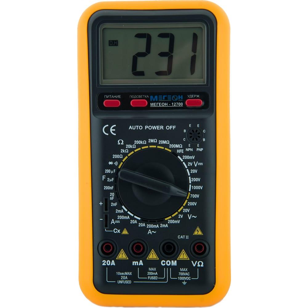Мультиметр мегеон 12700