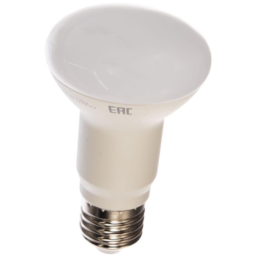 Светодиодная лампа led r63 e27 8вт 4000k rev 32337 2