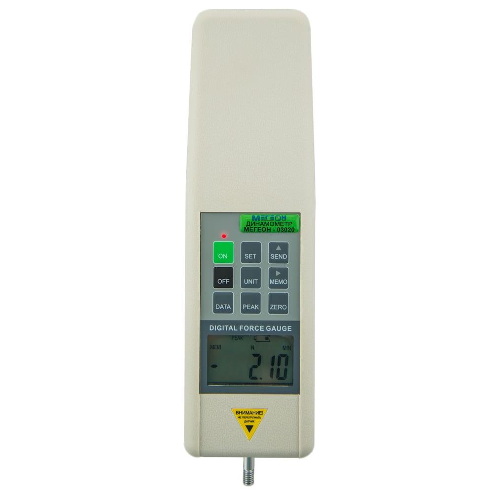 Электронный динамометр мегеон 03005