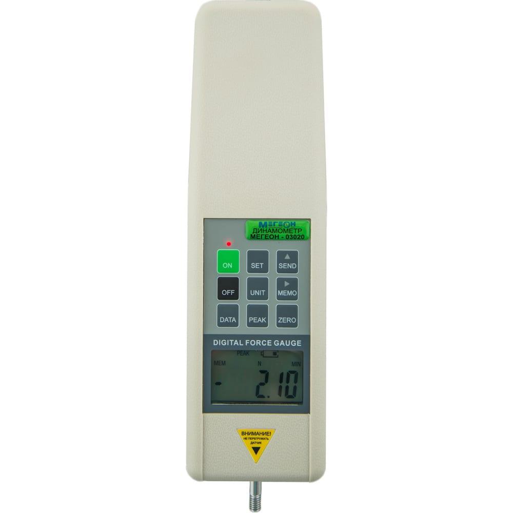 Электронный динамометр мегеон 03050
