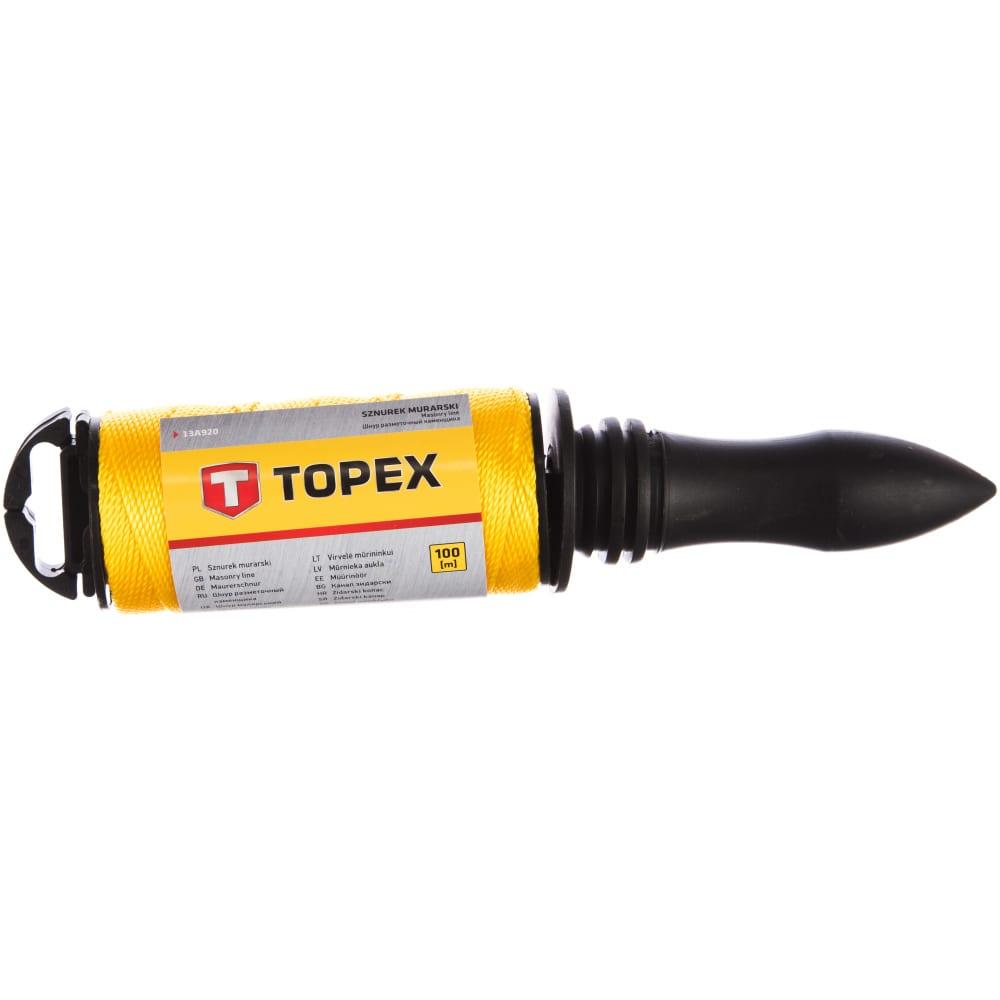 Разметочный шнур topex 100 м 13a920