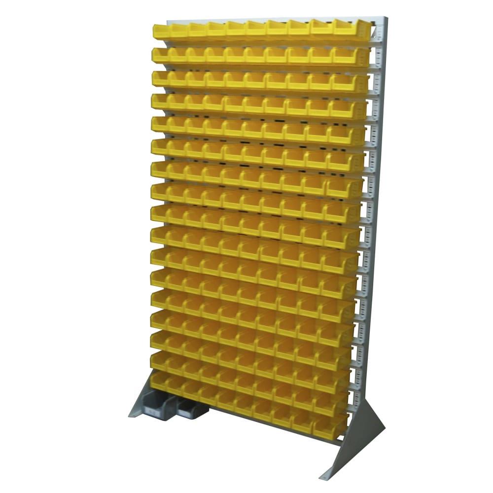 Односторонняя желтая стойка 1150х2000 стелла в1-17-00-00