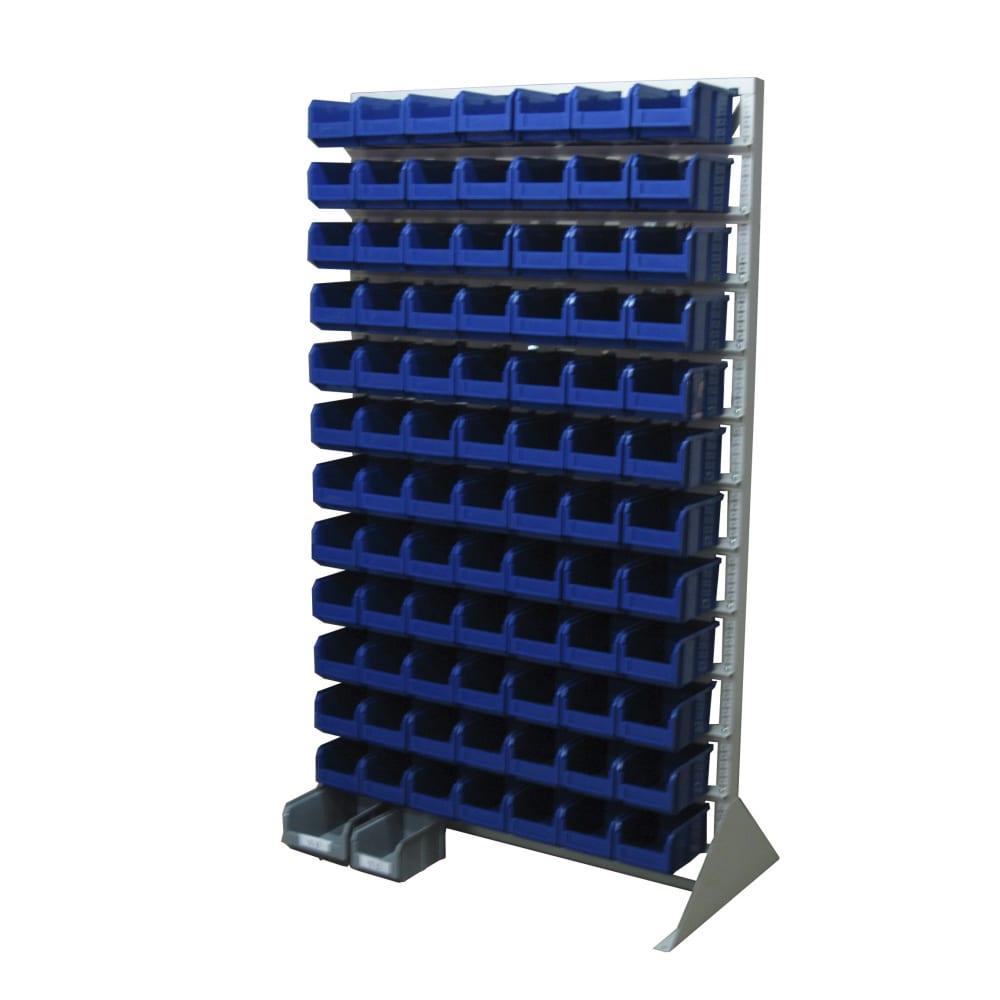 Односторонняя синяя стойка 1150х2000 стелла в1-00-12-00