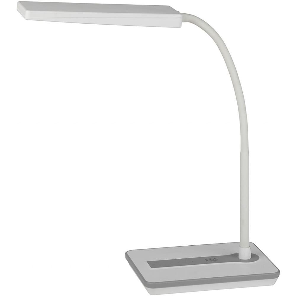 Настольный светильник, белый эра nled-446-9w-w б0017432