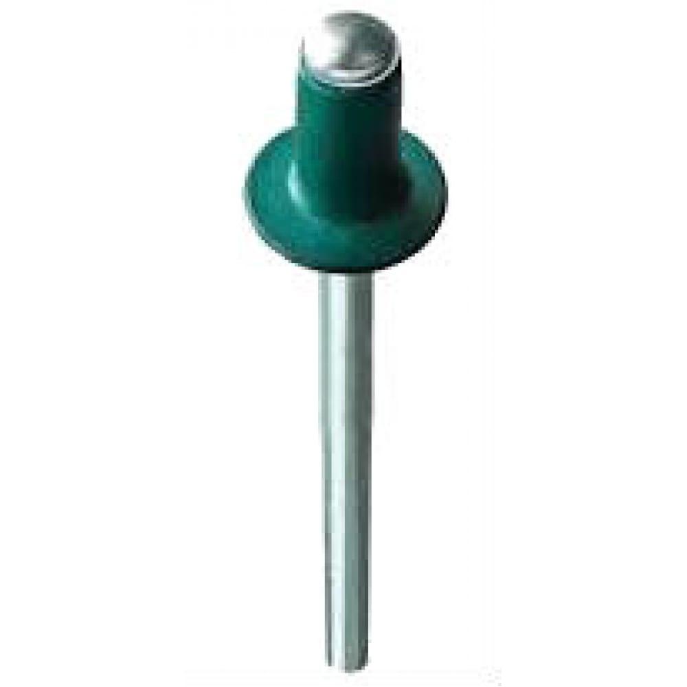 Купить Крашенная заклепка kenner алюм/сталь 4х10 ral6002 1000шт зк4106002
