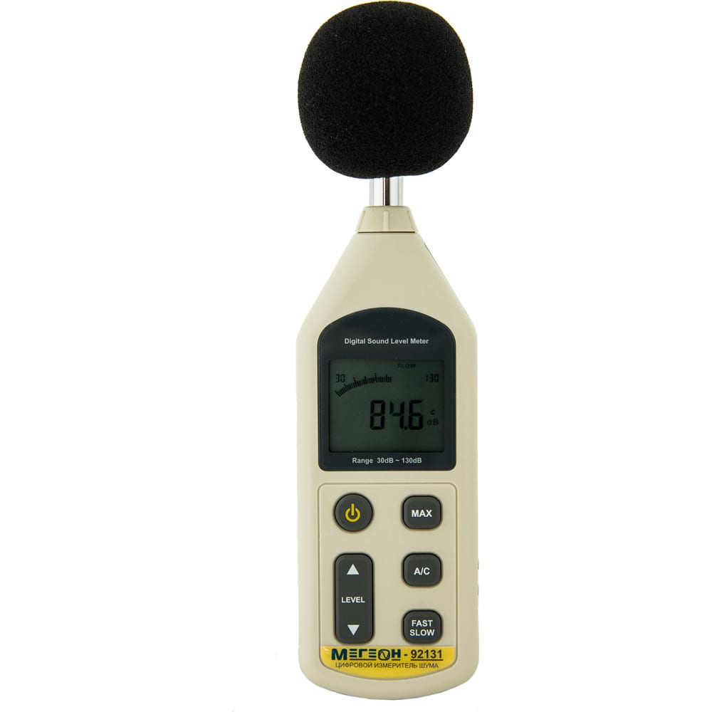 Измеритель шума мегеон 92131
