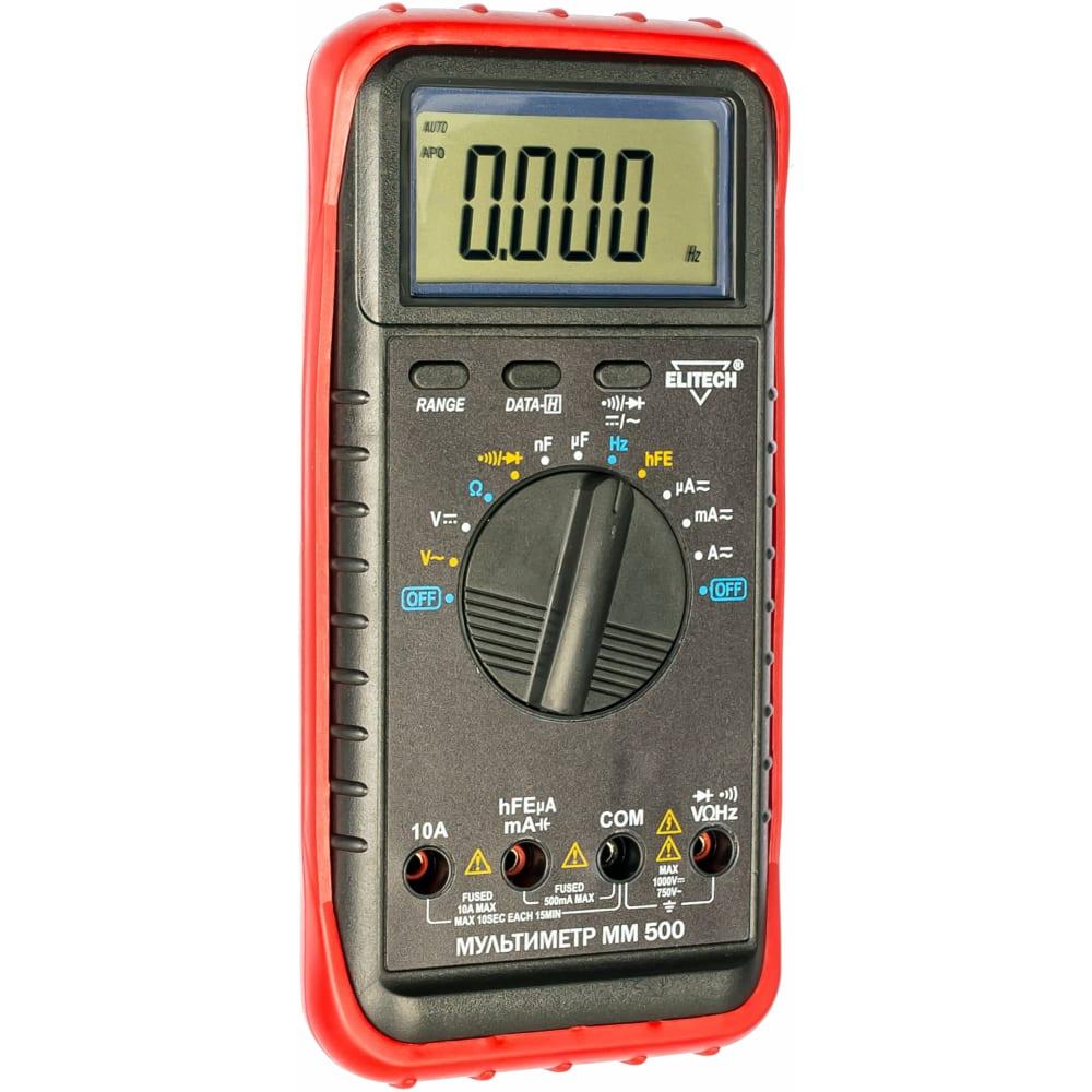 Мультиметр elitech мм 500