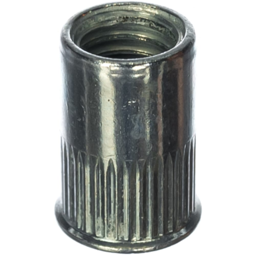 Заклепка с внутренней резьбой уменьшенный бортик kenner белый цинк м8х1,25х18 350шт зру8
