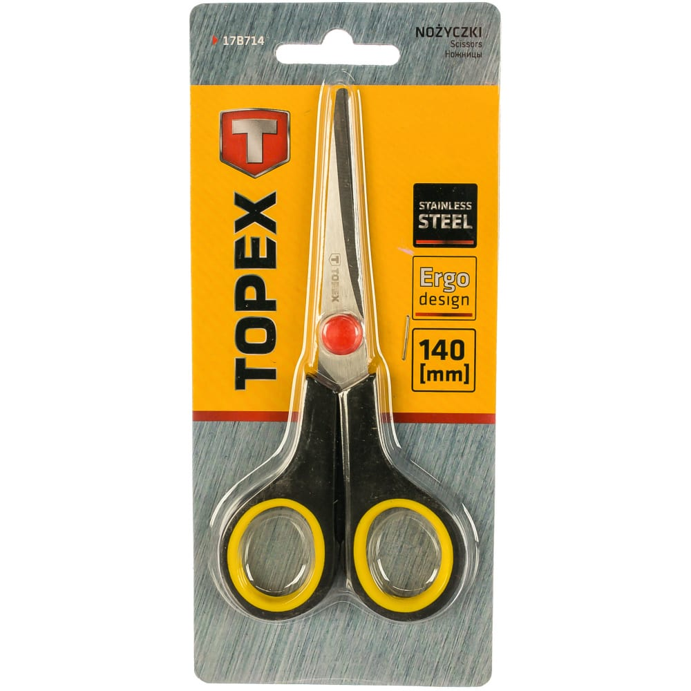 Ножницы topex 17b714