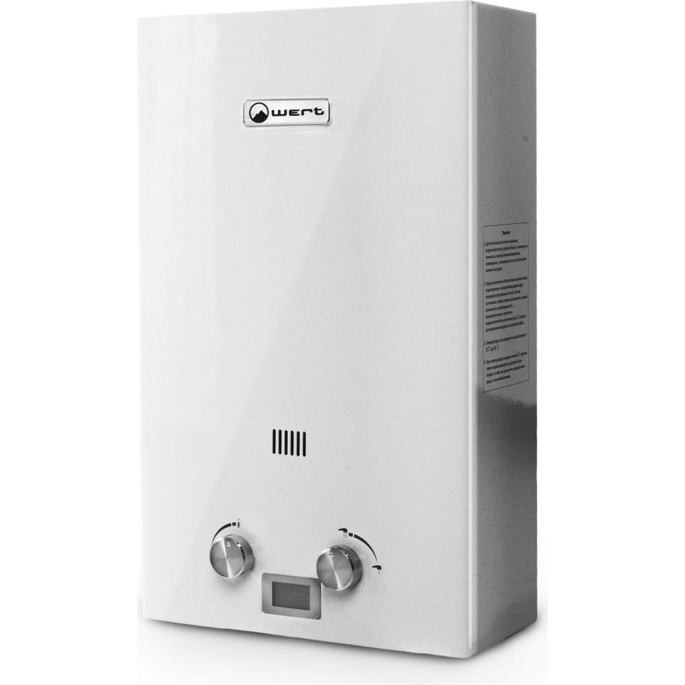 Газовый проточный водонагреватель wert 16e silver