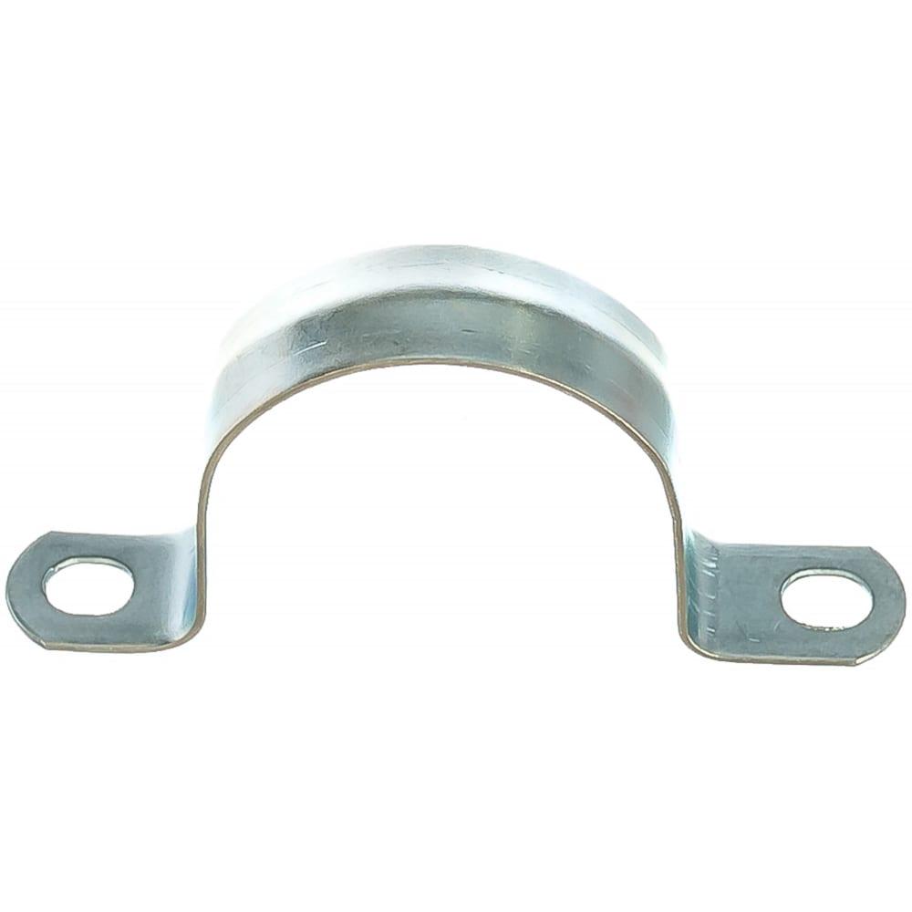 Металлическая двухлапковая скоба fortisflex смд 38-40 49184  - купить со скидкой