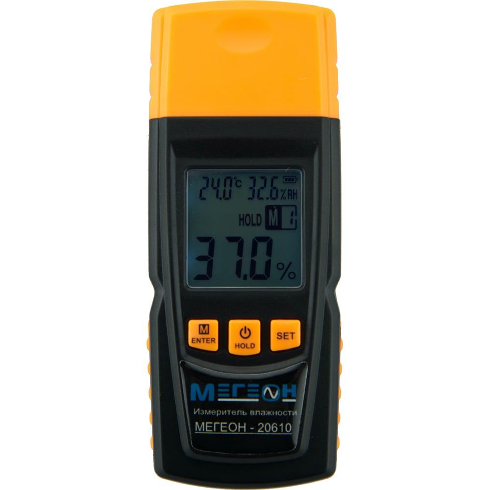 Измеритель влажности древесины мегеон 20610