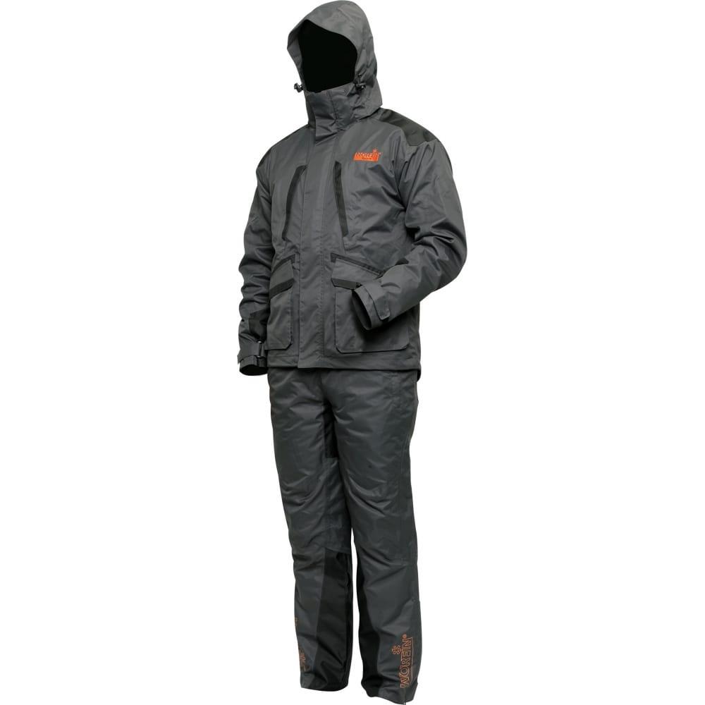 Демисезонный костюм norfin spirit 03 р.l 516003-lКостюмы<br>Вес: 1.325 кг;<br>Тип: брючный костюм ;<br>Цвет: серый ;<br>Размер: 50-52 ;<br>Капюшон: есть ;<br>Тип застежки: молния ;<br>Защитные свойства: от ветра и сильного дождя ;<br>Основная ткань: NORTEX BREATHHABLE ;<br>Подкладка: есть ;<br>Москитная сетка: нет ;<br>Международный размер: L (50-52) ;<br>Мембранный: есть ;<br>Летний: нет ;<br>Демисезонный: есть ;<br>Тип расцветки: одноцветный ;