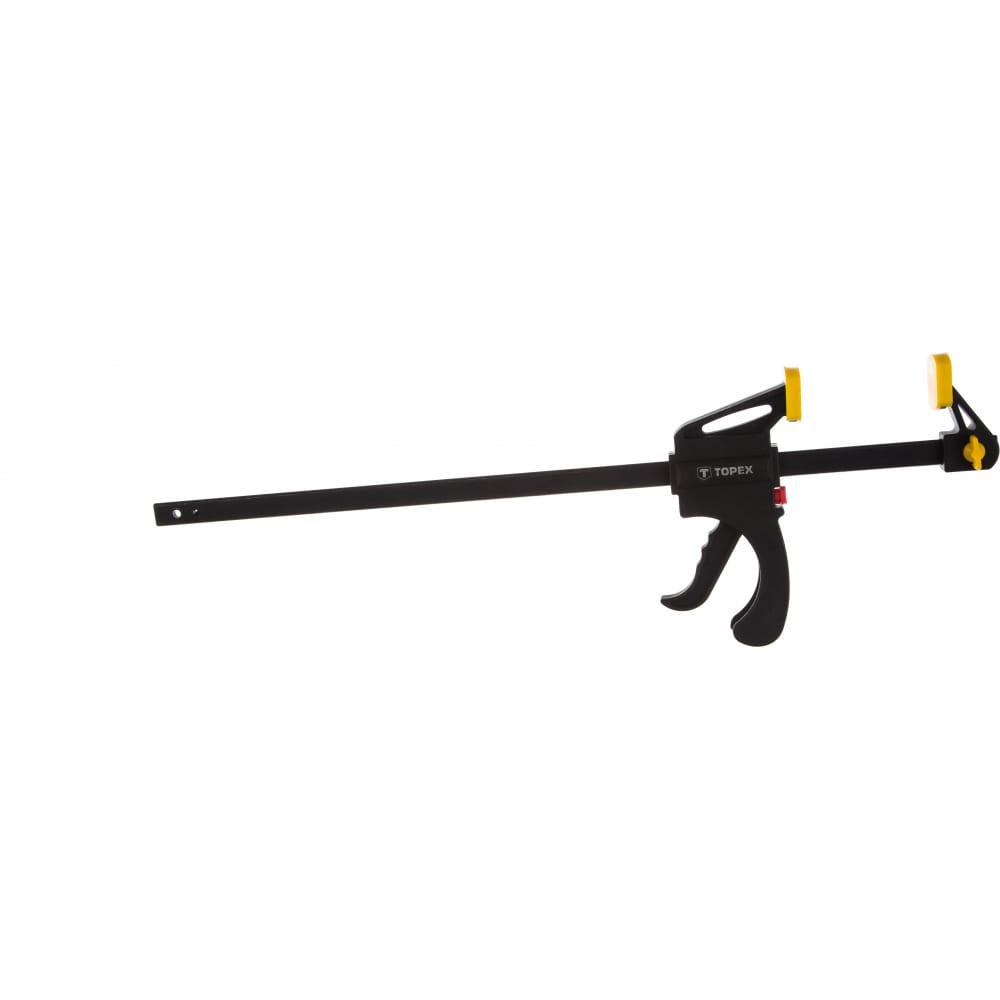 Автоматическая струбцина topex 450 мм 12a545  - купить со скидкой