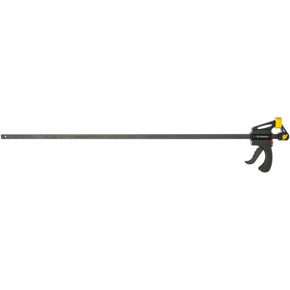 Автоматическая струбцина topex 900 мм 12a590