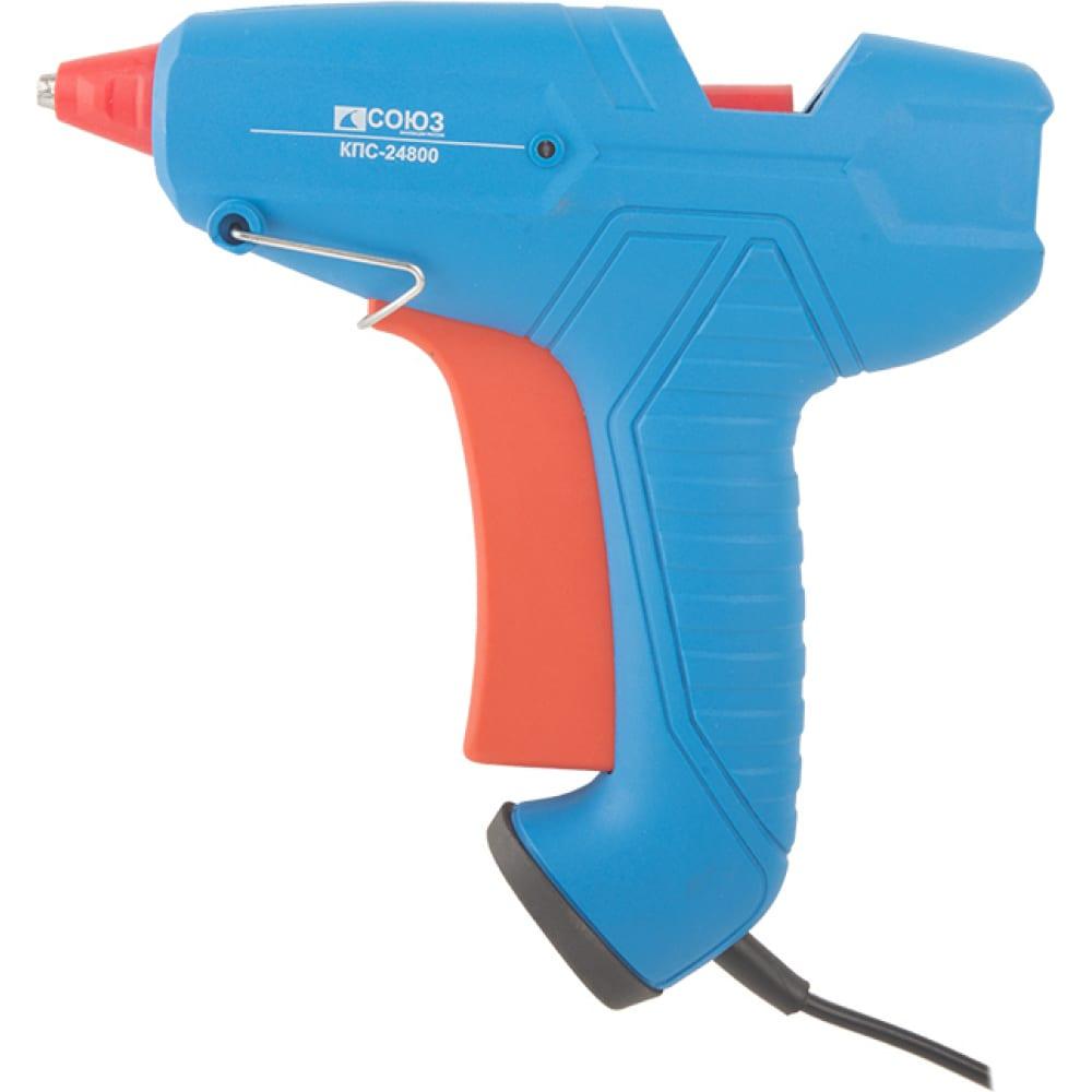 Клеевой пистолет союз кпс-24800