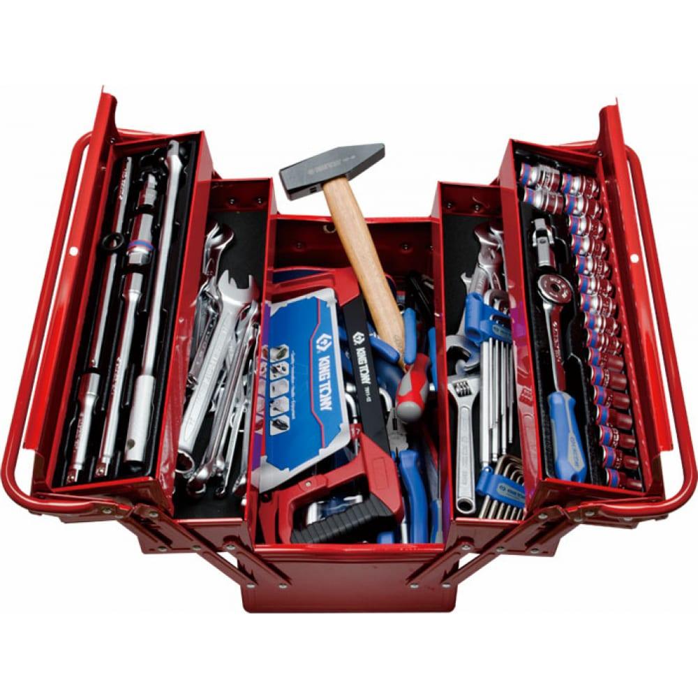 Универсальный набор инструментов 88 предметов king tony 902-089mr01