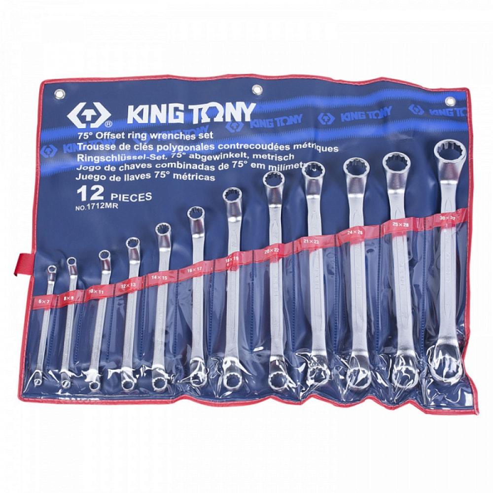 Купить Набор накидных ключей (6-32 мм, 12 предметов) king tony 1712mr