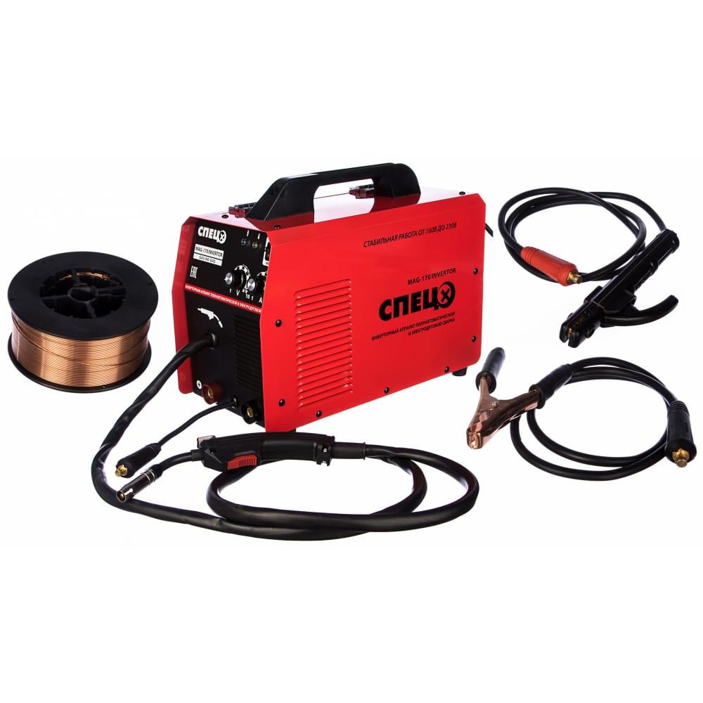 Сварочный инверторный полуавтомат спец mag170 invertor.