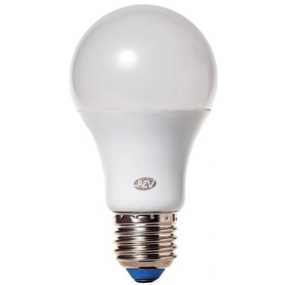 Светодиодная диммируемая лампа led a60 е27 13w 1100лм, 27000k, теплый свет rev premium dimmable 32381 5