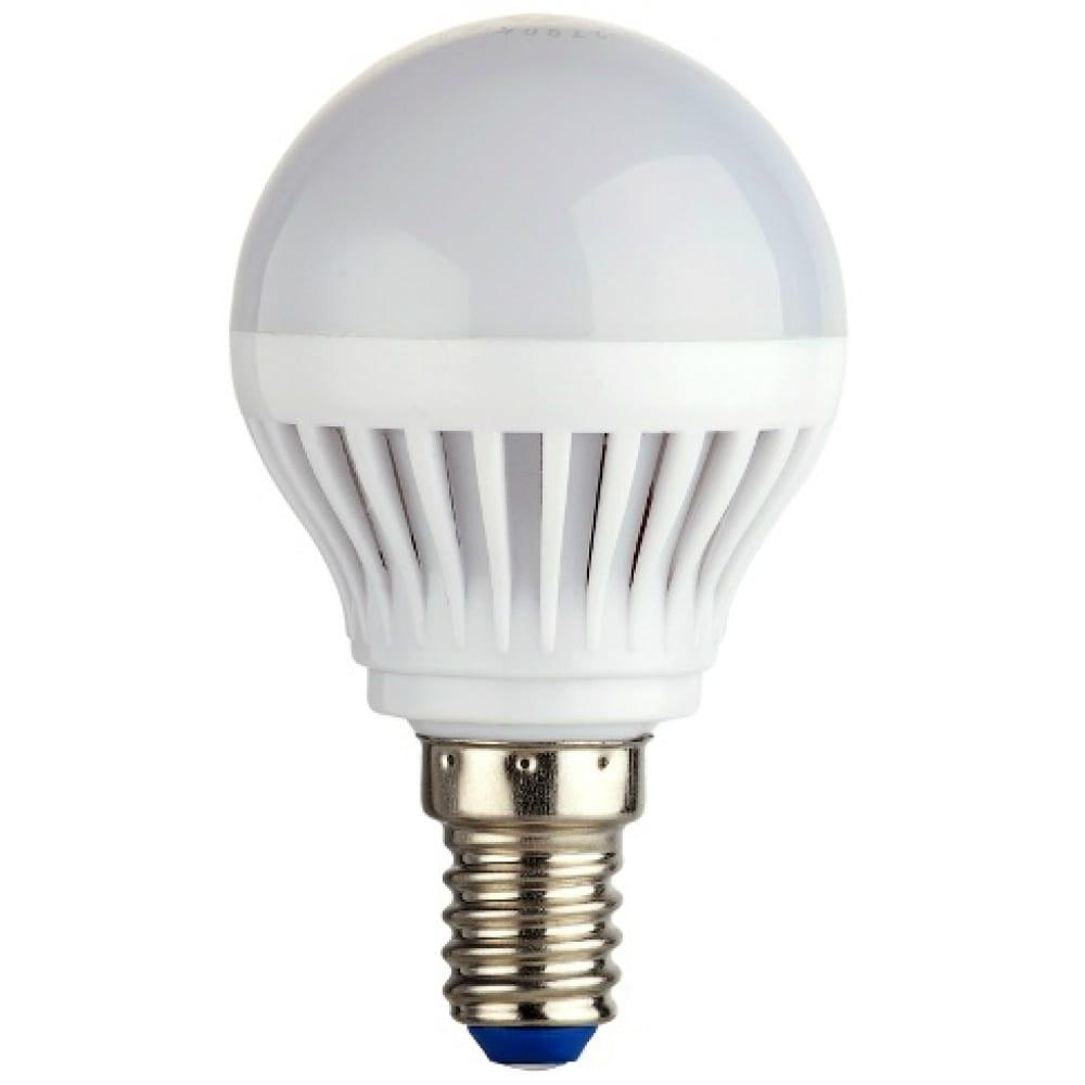 Светодиодная лампа led g45 е14 7w 600лм, 4000k, холодный свет rev 32341 9