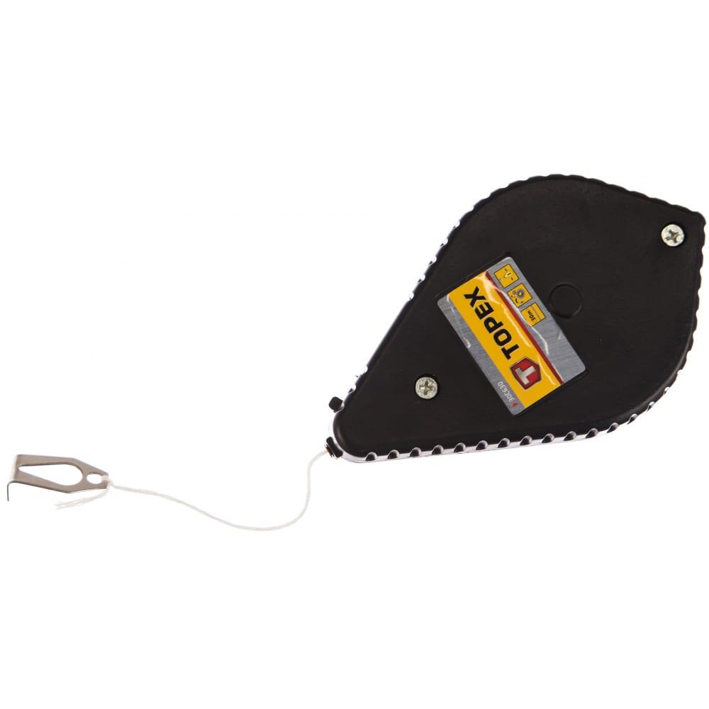 Разметочный шнур topex 30 м 30c630