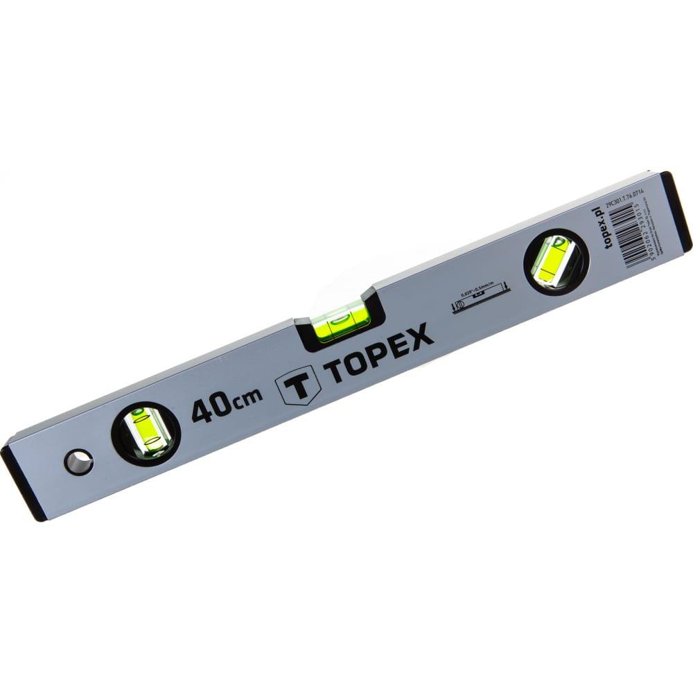 Купить Строительный алюминиевый уровень topex 400мм 29c301