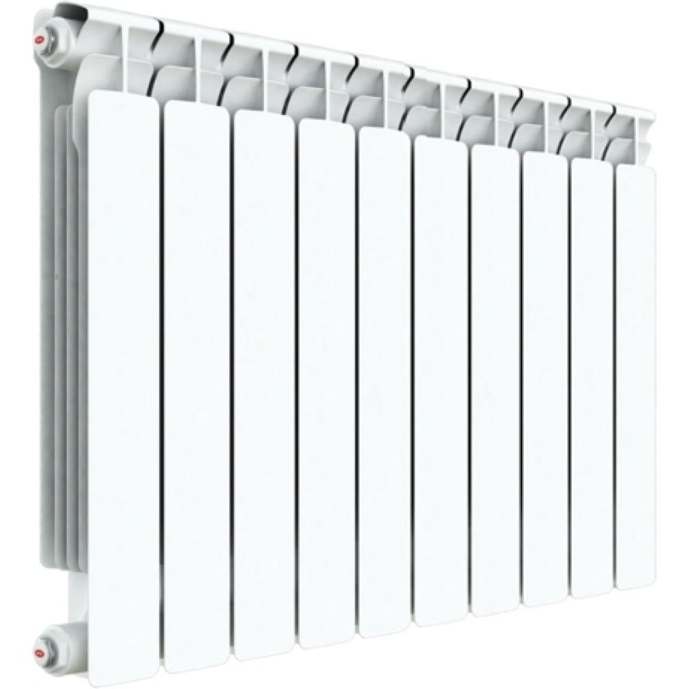 Биметаллический радиатор rifar base ventil bvr 500 - 07  - купить со скидкой