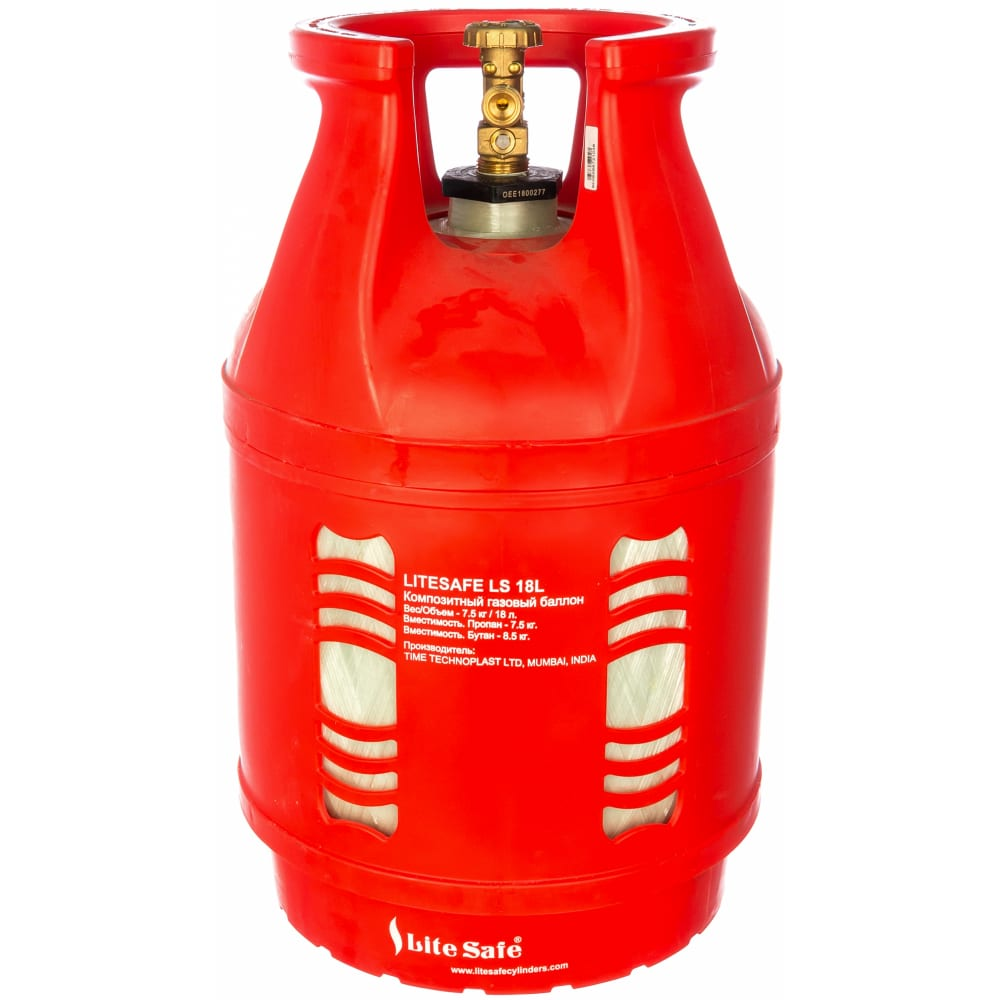 Баллон композитный газовый litesafe ls 18l