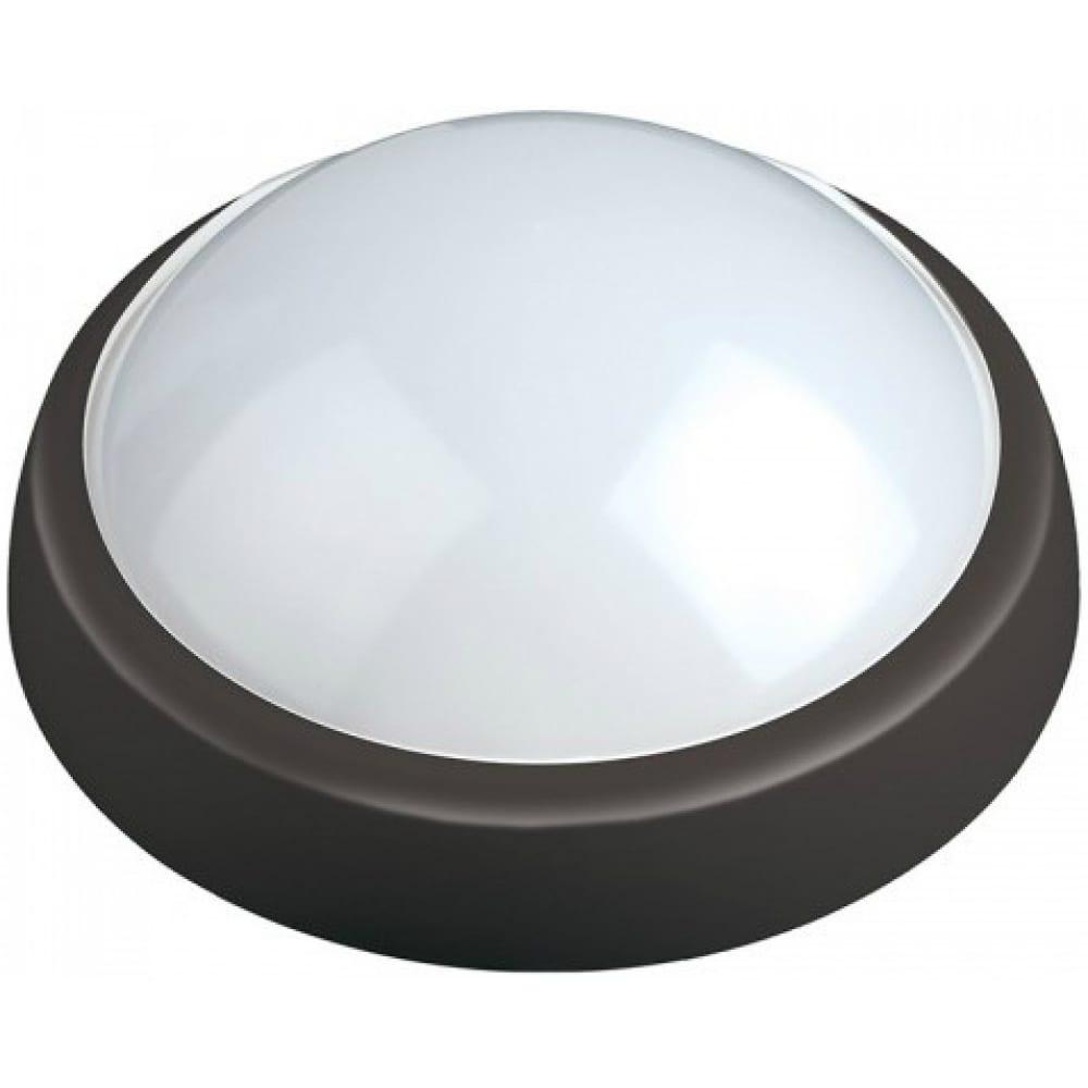 Пылевлагозащищенный светодиодный светильник uniel ulw-o04-12w/nw ip65 black 11137.
