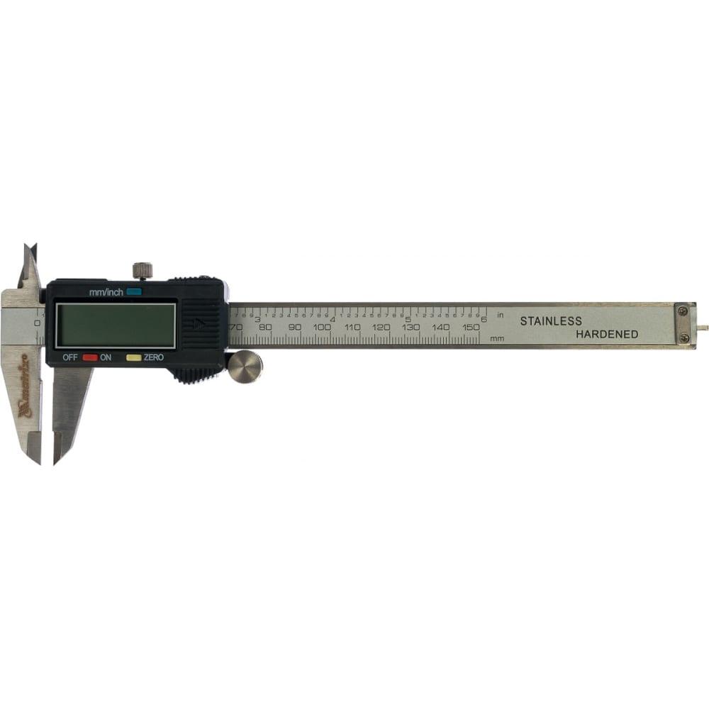 Электронный штангенциркуль 150мм matrix 31611
