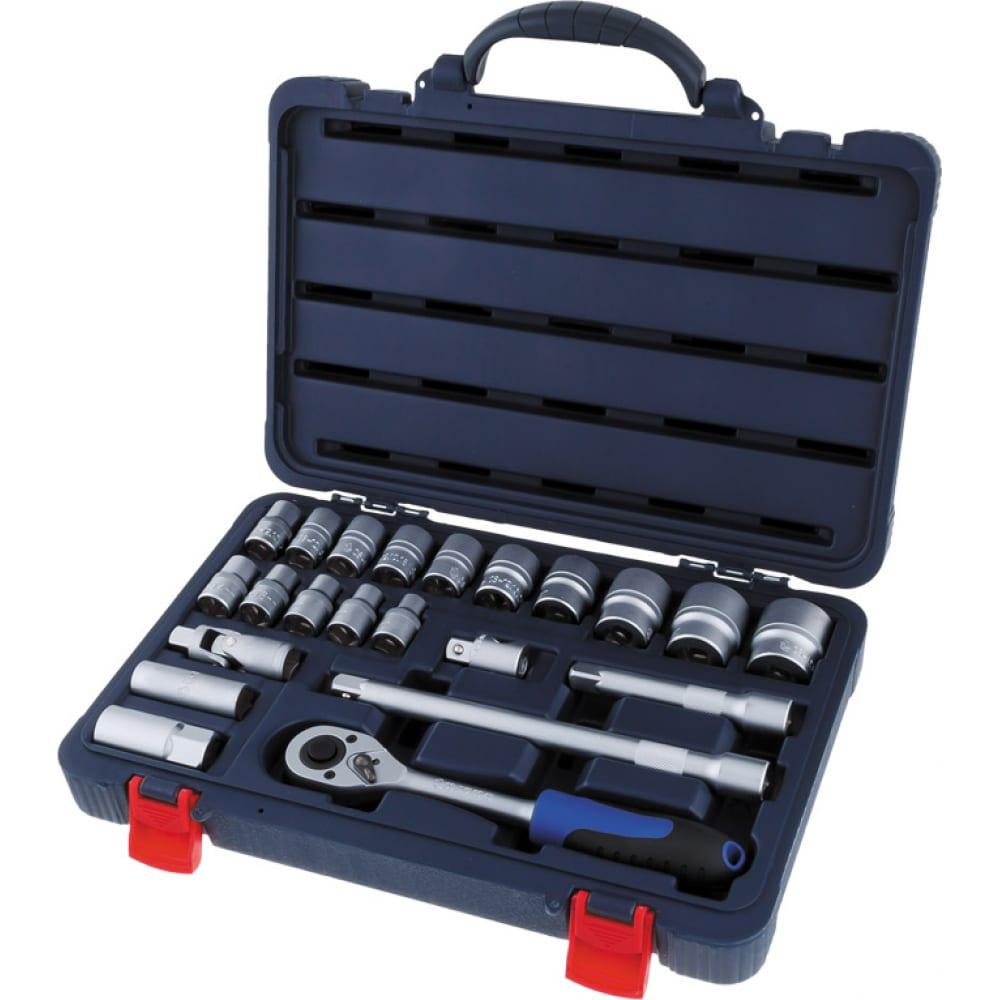 Набор инструментов станкоимпорт на 1/2 22 предмета cs-4022pmq.