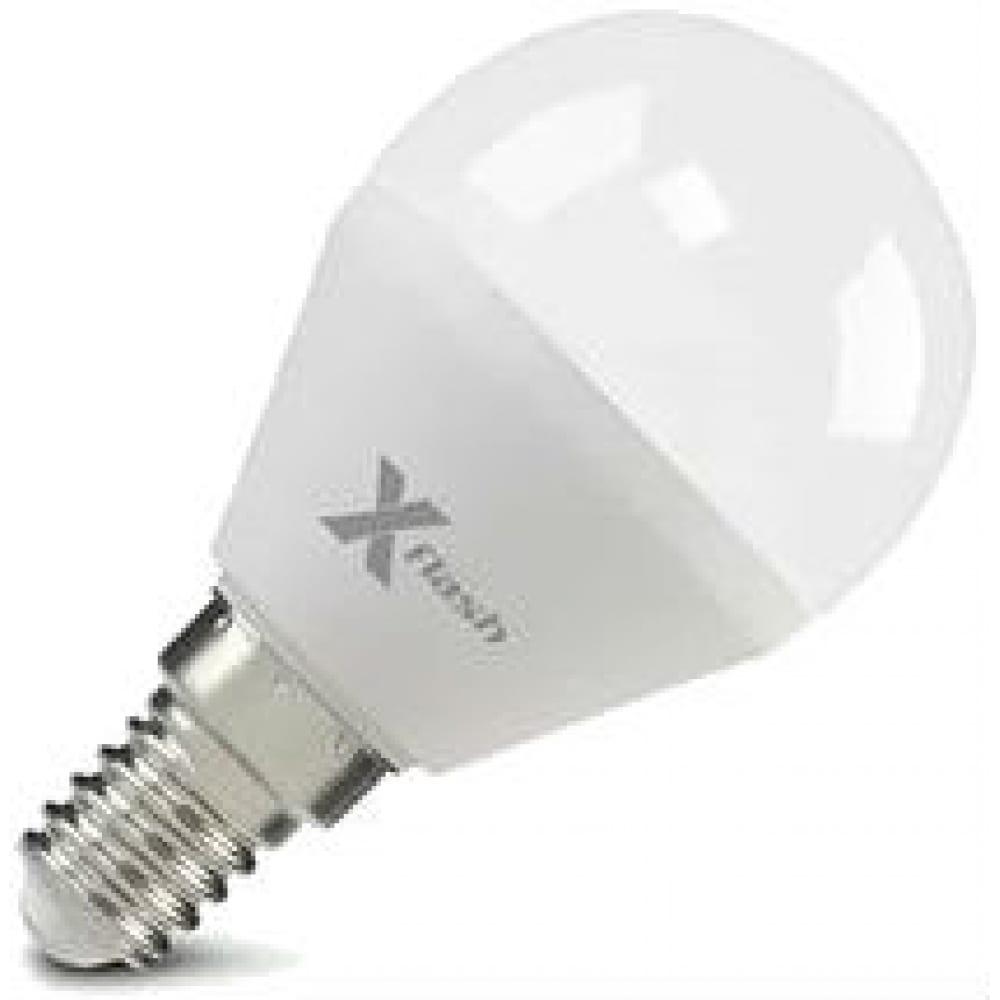 Купить Светодиодная лампа x-flash xf-e14-p45-6.5w-4000k-230v 47529